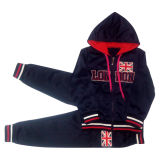 Children Clothingのための対照Color Kids Boy Sports Suit
