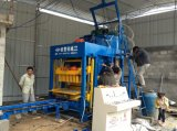 Máquina de Qt6-15D usada na produção de Blcok