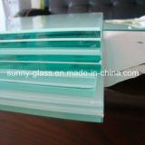 vidro laminado da segurança de 6.38-12.76mm para o vidro do edifício