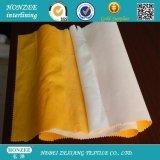 Tessuto scrivente tra riga e riga fusibile del poliestere per il fusibile della tela di canapa