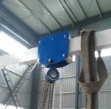 Луч инструментов ручного крана на козлах облегченный поднимаясь регулируемый