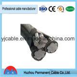Fil industriel flexible de conducteur de faisceau en aluminium de câble d'ABC isolé par XLPE de qualité