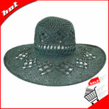 Chapéu flexível de Sun do chapéu de palha do chapéu