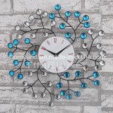 Reloj de pared de la decoración del metal