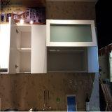 Armário de cozinha branco da pintura do lustro elevado moderno