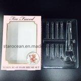 Kundenspezifische Vakuum-Thermoform Belüftung-Tellersegmente für Kosmetik mit Pappe