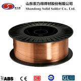Approvisionnement d'usine ! Fil de soudure Er70s-6/Er50-6/Sg2 de D300 15kg 0.8-2.0mm