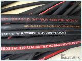 Hyrubbers 고압 유압 고무 호스 DIN En857 1sc/2sc