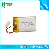 Plastik-Batterie der Stärken-Batterie 653040 Li-Ionbatterie-3.7V 650mAh