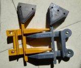 Cosechadora de corte Proteger fundición de precisión de acero para Nh, Claas protector de cuchillo