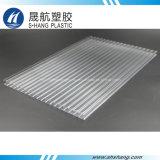 Feuille creuse transparente en polycarbonate à double paroi avec protection UV