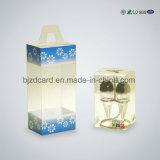 Rectángulo de empaquetado plegable del claro del PVC del regalo plástico transparente del animal doméstico