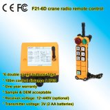 Venda direta Telecrane sem fio industrial F24-6D de controle remoto da fábrica