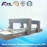 Componentes mecânicos de granito de precisão padrão