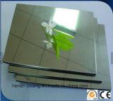 Panneau composé en aluminium certifié par RoHS de la CE pour le Signage UV d'impression