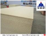 precio del MDF de la madera contrachapada de la tarjeta de partícula de 33m m del grupo de China Luli