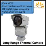câmera de longo alcance do Thermal do IP do zoom PTZ de 6km-16km