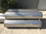Calefator de água quente solar pressurizado do sistema de aquecimento de água do coletor da câmara de ar de vácuo da tubulação de calor do aço inoxidável