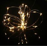 Nueva LED luz de la cadena de 2016 en la botella para la decoración de Navidad