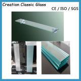 aangemaakte Glas van de Bovenkant van de Lijst van de Keuken van 319mm het Duidelijke Aangemaakte Glas