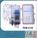 6.4 Las ranuras de fibra óptica Caja de distribución (FDB-0106)