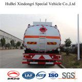 Caminhão de tanque pesado do armazenamento do combustível da capacidade