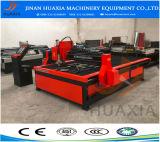 Corte del plasma del CNC y perforadora, corte de la placa de acero y maquinaria Drilling