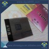 カスタム熱い押すホログラムのセキュリティペーパーのカード