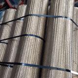 編みこみの環状の軟らかな金属のホース