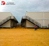 De geprefabriceerde Bouw van de Container van de Flats van het Staal