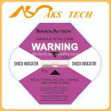 De hete Sticker van het Effect van het Etiket van Shockwatch van de Indicator van het Effect Intelligente