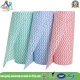 Рулоны ткани Spunlace Nonwoven очищая ткань Wipes для живущий комнаты