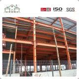大きいスパンの鉄骨構造の工場、倉庫、建物、小屋、格納庫
