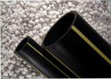 Pipes de HDPE enterrées par PE100 de l'approvisionnement PE80 d'usine pour le gaz et l'eau d'essence