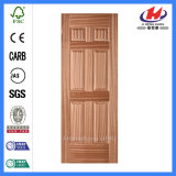 Pele de madeira da porta de Venner da face de Gurjan (JHK-006)