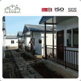 Casa prefabricada del estilo del chalet del hogar del panel de emparedado para la residencia de la familia