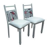 선술집 의자 (JY-R37)를 식사하는 대중음식점에 의하여 사용되는 금속 다방