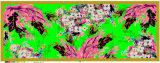 Lenço de seda impresso oblongo por atacado da forma do fabricante de China