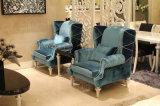 Cadeira da sala de estar da sala de visitas de Barcelona com otomano
