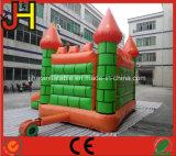 Il castello di salto gonfiabile del Bouncer con gigante si raddoppia trasparenza combinata