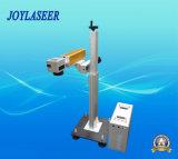 Máquina portable de la marca del laser de la fibra del vuelo del metal y del no metal