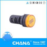 Indicateur LED approuvé d'affichage numérique de tension de la CE DC8V-150V