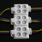Luces del LED para las tarjetas de la muestra