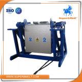 Four de fonte de inclinaison hydraulique de métaux lourds de chauffage par induction