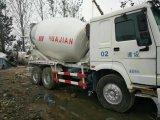 Ziemlich verwendeter HOWO mischender LKW für konkrete Maschinerie