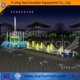 Fontaine en bois extérieure de musique de syndicat de prix ferme d'acier inoxydable de module