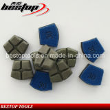 Do diamante bond de Werkmaster da resina almofada abrasiva para o assoalho concreto