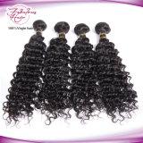 Cabelo não processado do Virgin dos Peruvian do Weave 100% do cabelo humano de Remy