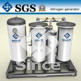 Purificación del nitrógeno del gas con el CE obediente