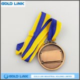 최신 고대 금관 악기 금속은 주문 금메달 도전 동전 큰 메달을 돋을새김했다